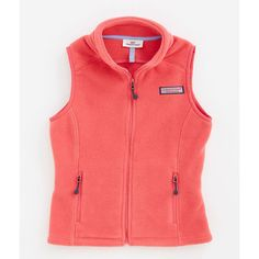 Girls Outerwear: Westerly Vest for Girls – Vineyard Vines ($60) ❤ liked on Polyvore featuring outerwear and vests