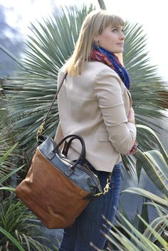 Hello, spring! Here's a lovely shot from our recent photo shoot at Cistus Nursery on Sauvie Island. Cistus is a magical place specializing in drought tolerant plants some of which are native to Mexico - well worth a visit!   Model: @sacajalida  Shown: Viator Tote in grey / tan. http://www.oroxleather.com/products/viator-tote-grey-tan Cistus Nursery: http://www.cistus.com/  #oroxleatherco #leather #family #tradition# handcrafted #madeinusa  #madeinpdx #portlandoregon #pdx #bag
