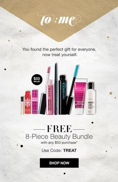 Get this FREE 8-piece Avon Beauty Bundle with your $50 online purchase + Free Shipping! Use code: TREAT at checkout. #avon Shop Avon online at https://www.avon.com/?rep=jenbertram