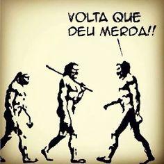 Nossos ancestrais estariam envergonhados... Em certos aspectos, somos mais bárbaros que os homens das cavernas...  #comportamento #reflexao #atitude