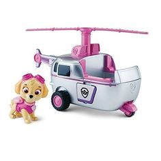 Paw Patrol Skye Copter Helicopter Figure Nickelodeon Pup Flying Set Toy Racer