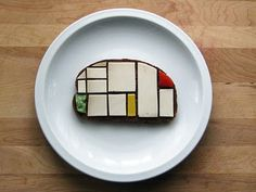 Sandwiches As An Homage To Modern & Contemporary Artists.