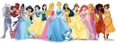 The iconic female disney characters