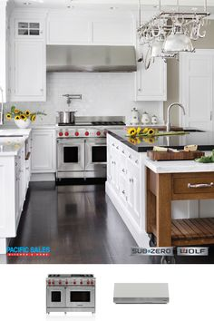 Turn your before, into an after. Your kitchen is where life happens. Where you share food, conversations, and confessions with family and friends. Let Sub-Zero Wolf and Pacific Sales bring your dream kitchen to a reality.