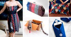 Riciclare le cravatte: 22 idee creative da copiare