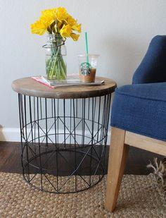 Wonderfully Made: DIY Metal Side Table