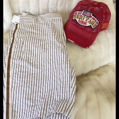 J.Crew Striped Short Re Poshing these run more like a 6 like new Citi fit. J. Crew Shorts Bermudas