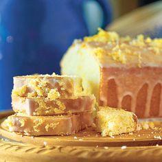 Lemon Tea Bread    This yummy, cake-like tea bread has a light lemon taste and is drizzled with a sweet citrus glaze.