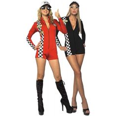 Racer Costume Adult Race Car Driver Racing Racecar Halloween Fancy Dress #RubiesCostumeCoInc