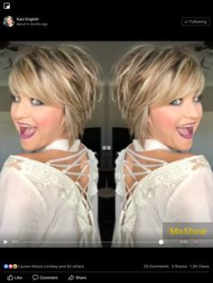 Berry Cocoa and Cake Pop, combine and create a personal look, Enduring Lip Color. Berry Cocoa and Choppy Bob Hairstyles, Short Hairstyles For Women, Layered Hairstyles, Bob Haircuts, Black Hairstyles, Easy Hairstyles, Short Hair With Layers, Short Hair Cuts, Pixie Cuts