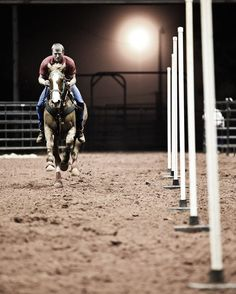 an amazing pole bending shot Pole Bending, Rodeo Events, Rodeo Life, Western Riding, Barrel Horse, Horse World, All The Pretty Horses, Equestrian Outfits, Barrel Racing