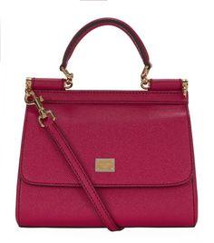 Love this: Mini Vitello Leather Shoulder Bag @Lyst