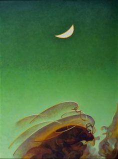 Spring Moon - Агнес Лоуренс Пелтон
