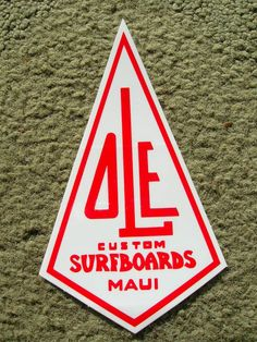 ole surfboards surfing surfer vintage sticker decal surfer longboard | eBay#Repin By:Pinterest++ for iPad#