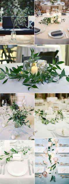 Organic Wedding Style - Tischdeko