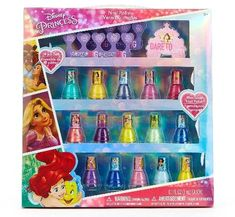 Townley Girl Disney Princess Peel-Off Nail Polish Gift Set for Kids, 18 Count >>> Check out the image by visiting the link. (This is an affiliate link and I receive a commission for the sales) Christmas Gifts For 5 Year Olds, Best Christmas Gifts, Holiday Gifts, Best Gifts, Christmas Holiday, Disney Princess Nails, Disney Nails, Disney Princesses, Nail Polish Sets