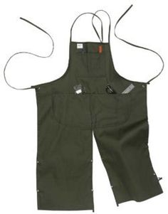 Under NY Sky Full Frontal Cover Petroleum Black Apron - Heavy-Duty Canvas, No-Tie, Leather Reinforcement and Split-Leg - Adjustable for Men and Women - Pro Woodworker, Mechanic, Pottery Artist Aprons Victorian Aprons, Tool Apron, Pottery Workshop, Pottery Studio, Black Apron, Split Legs, Klein Tools, Pottery Tools, Sewing Aprons