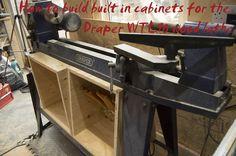 Draper wtl90 lathe cabinets