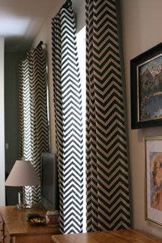 Chevron Curtain Panels. Chevron CurtainsLiving Room ...