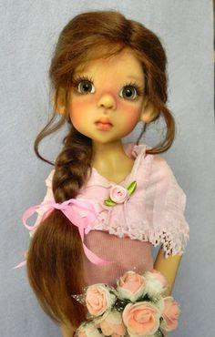 British Mohair Doll WIG SZ 8 9 FOR Kaye Wiggs Layla Nyssa Lasher MSD BJD | eBay