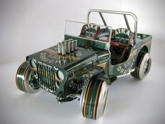 Classic Vehicles Made From Recycled Beer Cans (3)