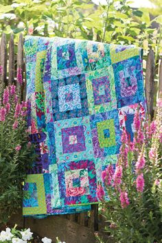 Precuts Pizzazz - If you often buy fabric precuts because theyíre pretty and then wonder what to do with them, Annieís Precuts Pizzazz will help you turn them into gorgeous quilts, runners, place mats and more. Projects include Strip Dash Runner (a weekend project), Reversible Around the World Runner (strips with color options), Windows (freshen up your bed), Summer Twist (bold graphics), Progression (a study in color), Cracked Ice (10'-square friendly), Trellised Garden (using fat…