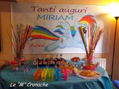 Rainbow Dash birthday party