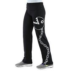 Nerd in yoga pants