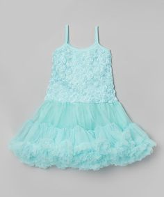 Look what I found on #zulily! Mint Aqua Bestaroo Rosette Pettidress - Infant & Toddler by Bestaroo #zulilyfinds