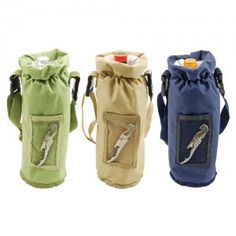Grab & Go Bottle Carrier - The Crazy Cork #gifts #dad #fathersday #2013 #beer #wine #insulator #corkscrew #rustic