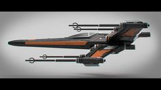 ArtStation - X-Wing Redesign, Andrew Hodgson