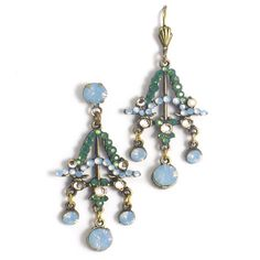 Anne Koplik Art Deco Jewelry - Air Blue - bridesmaid