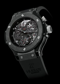 Hublot Black...can't wrap my head around the cost, but damn