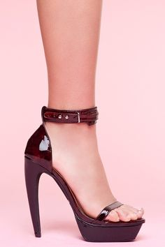 Jeffrey Campbell. These pumps are both elegant and strong.