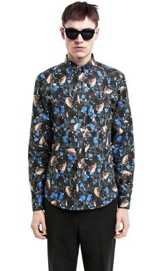 Acne Studios Isherwood Print Terazzo (Blue/Black)