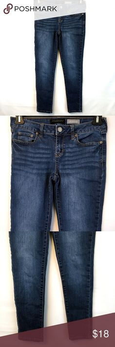 d8a9cf216be Aeropostale Jegging Whiskered Distressed 6 Short Aeropostale Jeggings -  Women s size 6 Short - Excellent used