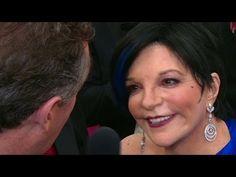 Liza Minnelli at Oscars Red Carpet: I still get nervous! - YouTube