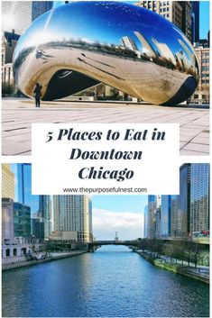 Visiting the Windy City soon? Learn where to eat in Chicago with this list of the best food places to visit in the city's downtown area. Places In Chicago, Chicago Tours, Chicago Trip, Chicago Travel, Usa Travel, Travel Tips, Vacation Places In Usa, Chicago Vacation, Best Places To Travel