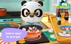 Dr. Panda Restaurant 2- good cooking game for little kids. Savoury recipes.