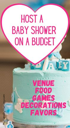 Cheap baby shower ideas for boys and girls. How to host a baby shower on a budget. Cheap baby shower game ideas. Inexpensive baby shower venues, decorations and favors. Baby Shower Game Prizes, Baby Shower Host, Budget Baby Shower, Simple Baby Shower, Boy Baby Shower Themes, Baby Boy Shower, Baby Showers, Cheap Baby Shower Decorations, Baby Shower Centerpieces