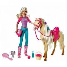 Top 10 Hot Barbie Toys is sweet, cool, trendy and nice. Many toys came from brand Barbie like Barbie Glam Pool, Barbie Blonde Styling Head, Barbie...