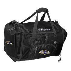 Road Block Duffle Bag NFL Black - Baltimore Ravens