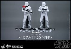 First Order Snowtroopers Hot Toys Figurine Debuts With Kylo Ren -  #hottoys #kyloren #snowtroopers #starwars