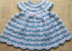 Sweet Nothings Crochet: BABY'S SHELLED DRESS