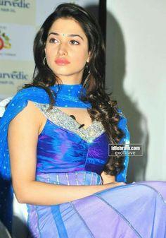 Beautiful Tamanna Bhatia in Blue ❤️