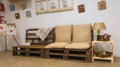 Chloe decoration# sofa#pallets