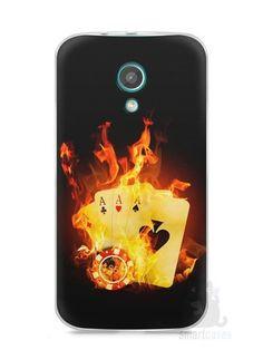 Capa Moto G2 Poker #1