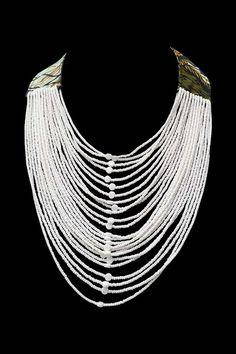 Kitenge Beaded Necklace