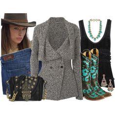 Classy cowgirl! :)