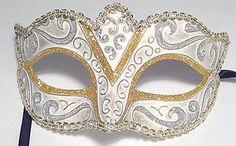 New Venetian style Masquerade Mask for Face, Mardi Gras, theatrical drama(F985)